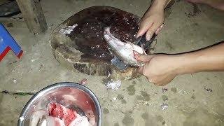 Ăn gỏi cá sông đà.( pà cỏi)