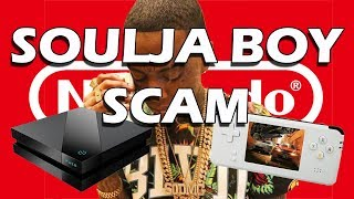 Soulja Boy's Game Console Scam, Attacks YouTubers, and Taunts Nintendo