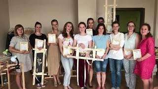 Обучение: Вышивка люневильским крючком в двух техниках, г Москва , Виктория Бойко