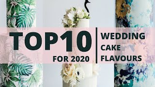 10 Best Wedding Cake Flavours for 2020 by Sweet Lionheart  Pink Book Weddings