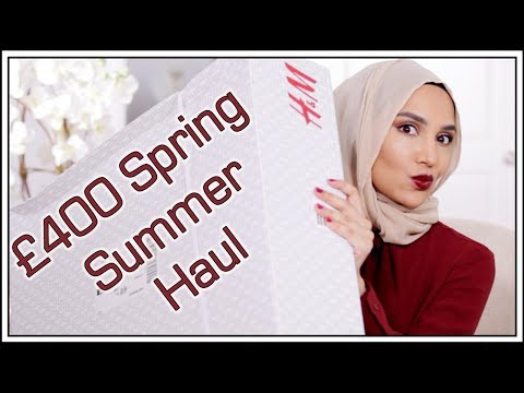 £400 Clothing Haul for Spring/Summer | H&M | Amena