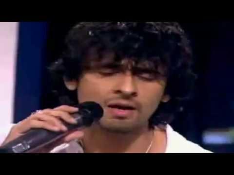 Sonu Nigam Singing Without Music - Kabhi Alvida Naa Kehna