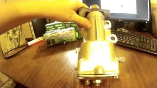 обзор Механизм рулевой 2101, 2102, 2103, 2106 реставрация (редуктор)