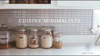 Cuisine minimaliste- Découvrez notre espace «presque» zéro déchet