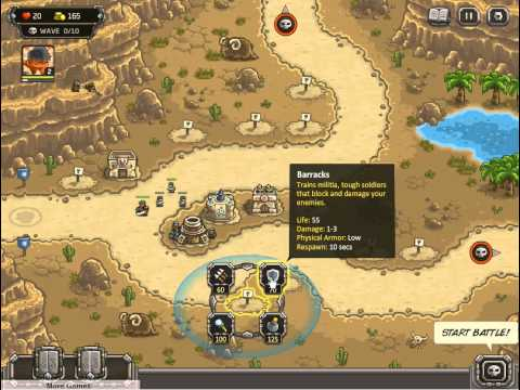 флеш игра Kingdom Rush Frontiers, флеш игра Защита королевства 2   новые рубежи