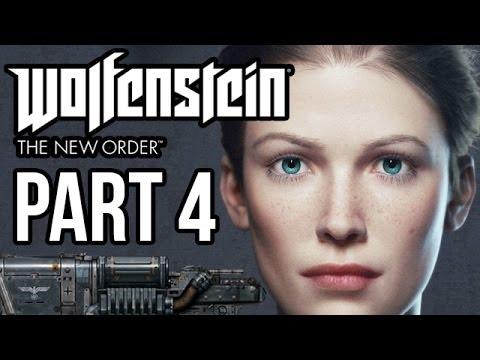 Wolfenstein Hd Wallpapers Wolfenstein The New Order Walkthrough Part 4 Anya Ps4