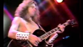 Live at midnight special, tv show, 1978ted nugent (lead guitar)charlie huhn (guitar & vocals)john sauter (bass)clifford davies (drums)