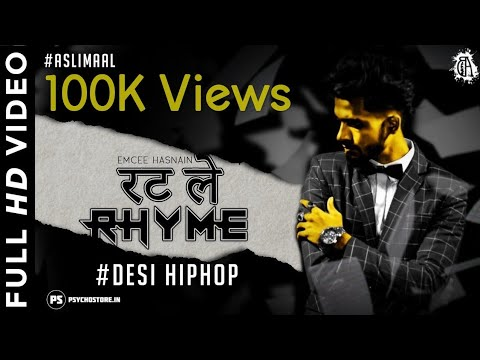 EMCEE HASNAIN- RATLE RHYME || Official Desi Hip Hop Music Video || #Aslimaal