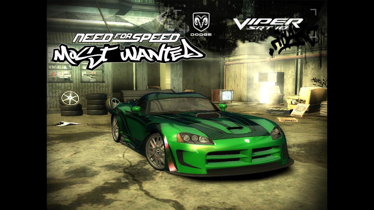 Need For Speed Most Wanted 2005 Dodge Viper Srt 10