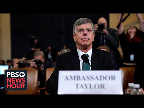 Former Amb. Bill Taylor on Alexander Vindman, Mike Pompeo and Ukraine
