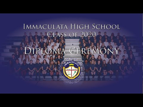 Immaculata High School Class of 2020 Diploma Ceremony