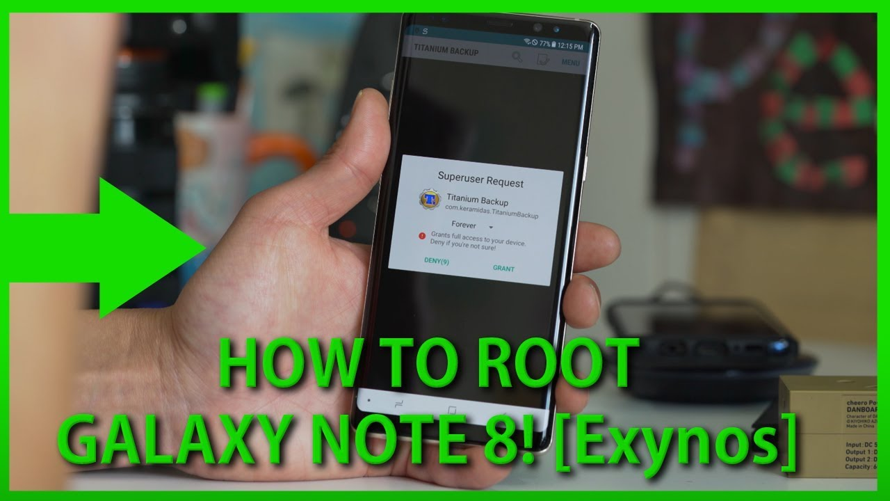 How to Root Galaxy Note 8! [Exynos]