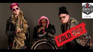 Zooz SOLD OUT LIVE STREAM @ Asheville Music Hall 1-13-2018