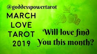 🍀Cancer Love March 2019~ You've Overcome, Don't Fear This Love