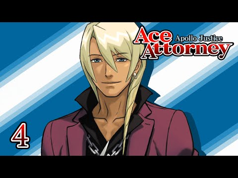 THE ROCK GOD OF LAW - Let's Play - Apollo Justice: Ace Attorney - 4 - Walkthrough Playthrough