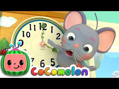 Hickory Dickory Dock | Nursery Rhymes & Kids Songs - ABCkidTV