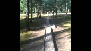 Great Escape Tunnel - what it looks like today in Stalag Luft 3