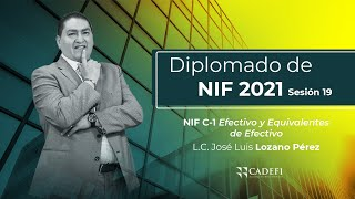 Cadefi - NIFS Sesión 19 - NIF C-1 Efectivo y Equivalentes de Efectivo - 9 de Marzo 2021 YT