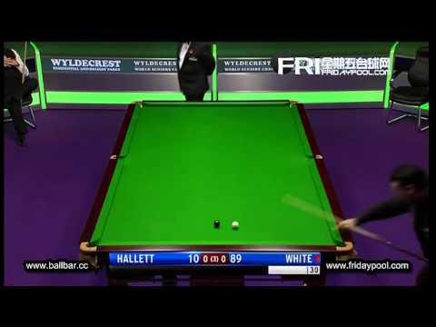 Mike Hallett v Jimmy White - 2012 Senior World Championship