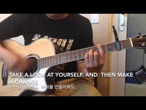 Man in the Mirror Guitar cover, Guy Sebastian,맨인더미러,Man in the Mirror Guitar chord, lyric