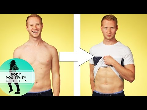 Men Try Ab Contouring