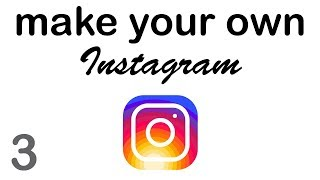 Make your Own Instagram - Login & Signup (3/10)