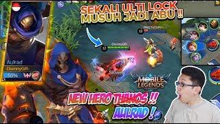 Mobile legend : New Hero AULRAD, Thanos masuk ML guys, Hero terkuat di alam semesta !!