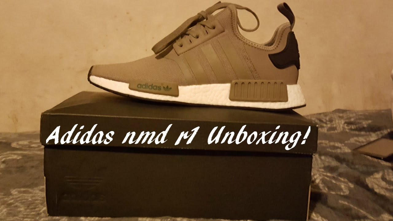 cheaper e6349 983c0 adidas nmd r1 unboxing