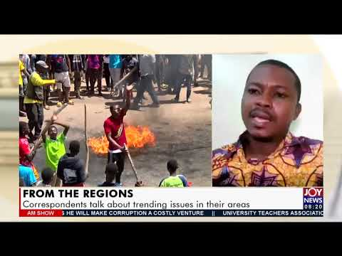 From The Regions: Correspondents talk about trending issues in their areas - AM Show (23-7-21)