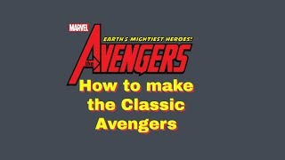 Roblox Super Hero Life II - How to Make the Classic Avengers (200 Subscribers Special)