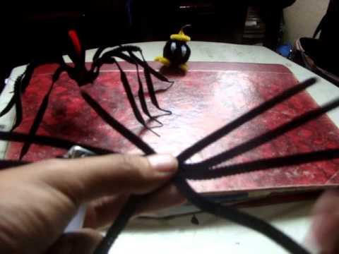 Como hacer una ara a con limpiapipas facil youtube - Como hacer una claraboya ...