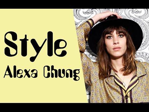 Alexa Chung Style Alexa Chung Fashion Cool Styles Looks