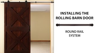 How to Install the Rolling Barn Door: SIMPLE. SMOOTH. OH-SO-EASY