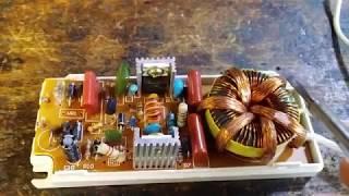 Ремонт електронного трансформатора CADJA 1008 160W