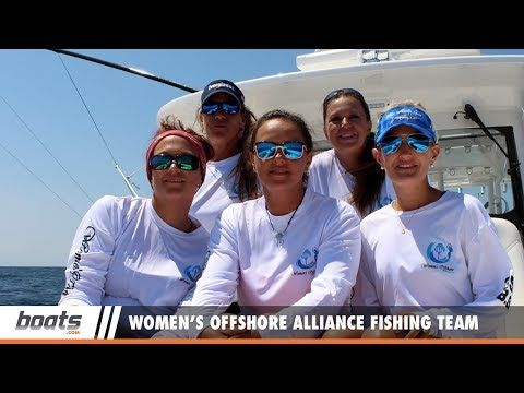 Women's Offshore Alliance Fishing Team at the White Marlin Open