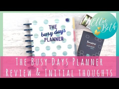 'Busy Days Planner' from Boxclever Press Review & Initial Thoughts!