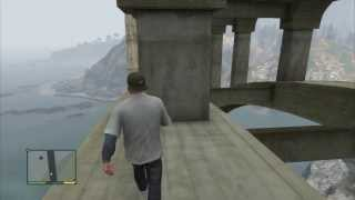 GTA V - Spaceship part on the bridge, easy way to get it (#46)