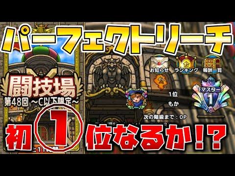 【ドラクエタクト】闘技場ついにパーフェクトリーチ!!【初の日本一なるか!?】