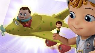 Finger Family - Vehicles Song | Rhymes for Children | Infobells