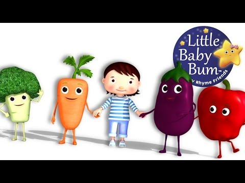 Eat Your Vegetables Song | Nursery Rhymes | Original Song by LittleBabyBum!