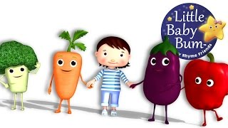 Eat Your Vegetables Song | Nursery Rhymes | Original Song by LittleBabyBum! | ABCs and 123s
