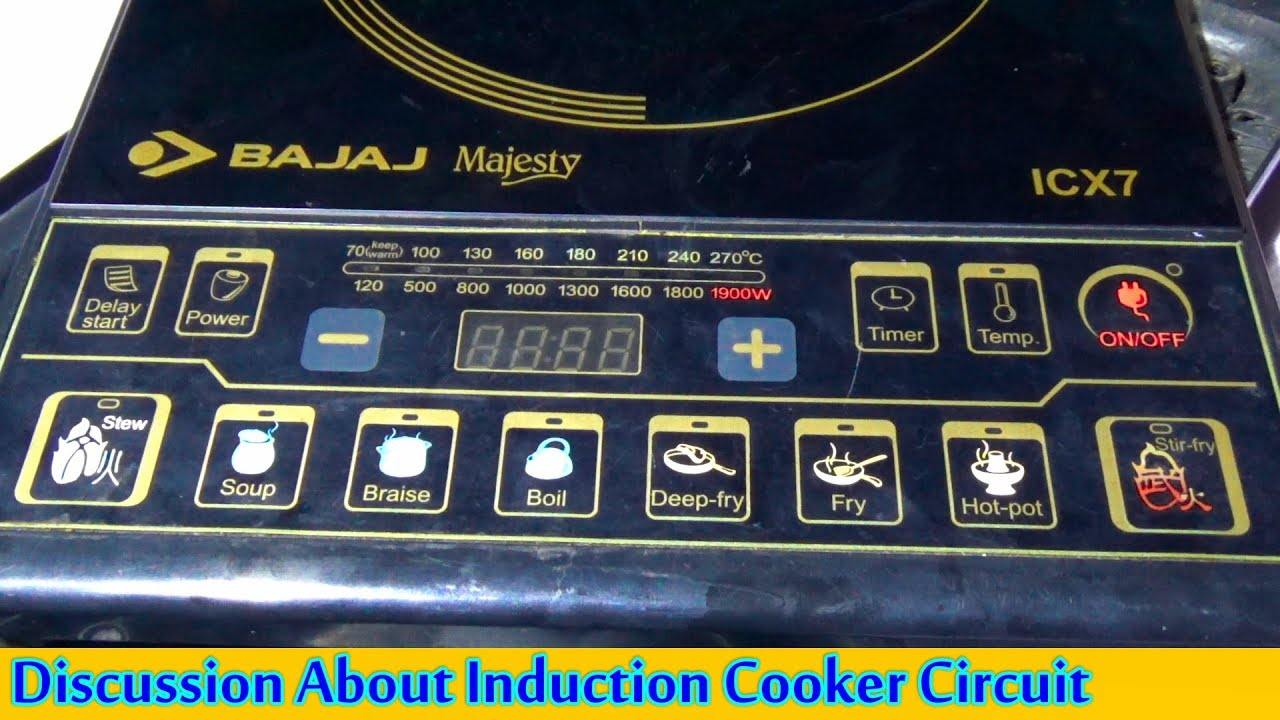 A Discussion About Induction Cooker Circuit Motherboard Pcb Board Buy Bengali Tutorial