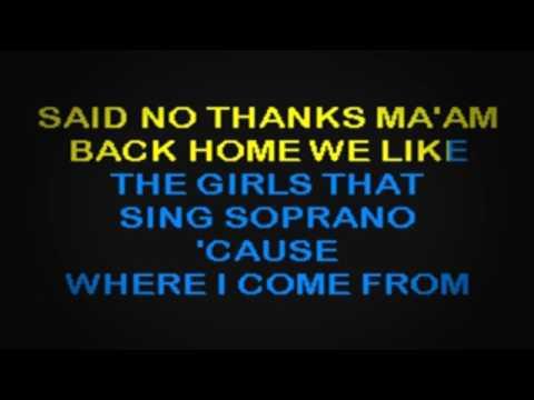 SC1010 03   Jackson, Alan   Where I Come From [karaoke]