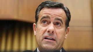 President Trump withdraws Rep. John Ratcliffe for national intel director