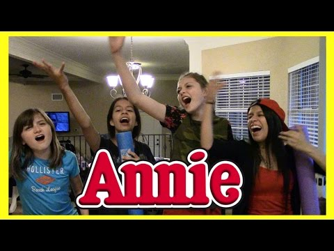 KIDS SING SONGS FROM ANNIE!
