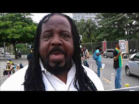 THE FIGHT AGAINST NIDS CONTINUES IN JAMAICA PROTEST # 2