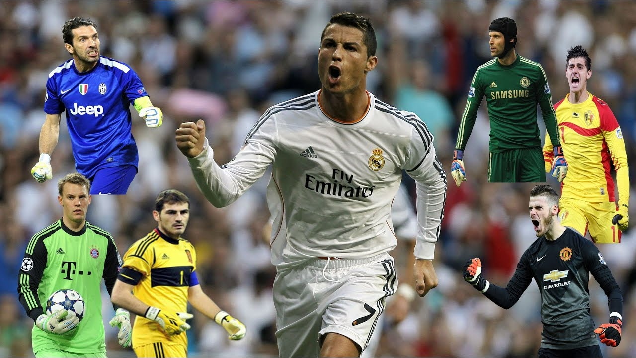 Download Cristiano Ronaldo vs Best 30 Goals Goalkeepers in the World   ǁ  ᴴᴰ 1080