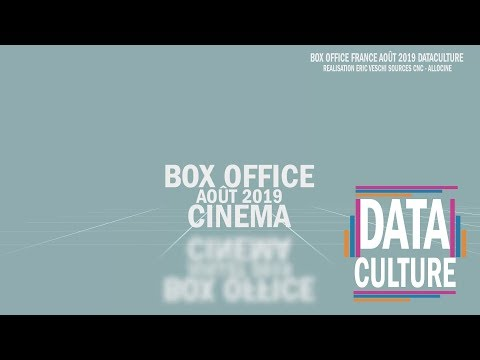 BOX OFFICE FRANCE AOUT 2019  DATACULTURE