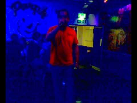 José the best...First step to win the Purple Turtle karaoke song contest (Reading)