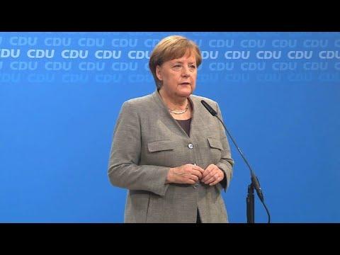 """Merkel erleichtert über """"Ja"""" der SPD"""